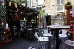 Our gorgeous roof terrace, available for private hire.