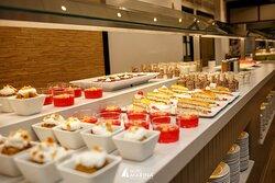 Dessert buffet Bufet de postres