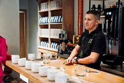 Join us for a weekly coffee cupping with a National Cup of Excellence Judge in Honduras.