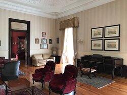 Salões no palácio