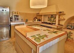 cucina Villa Puglia
