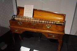 Franklin designed Glass Armonica.
