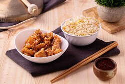 Pollo Honey Chicken