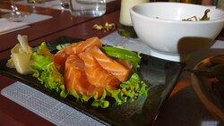 Sashimi saumon très très frais et fondant