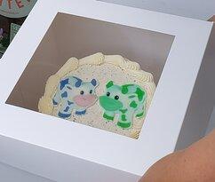 Actual cake printing