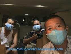 Private taxi Siem Reap to Phnom Penh