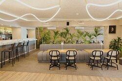 Arte Hotel Lima lounge area