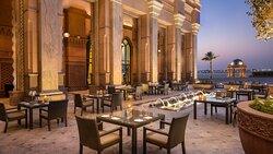 Emirates Palace Mezzaluna Terrace