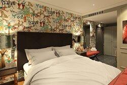 Corner King Guest Room
