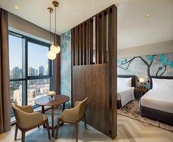 MPBA Deluxe Sky Studio Twin Bedroom Apartment