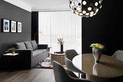 Suite - Sitting & Dining Area