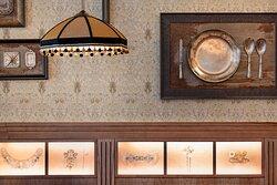 Decor Detail - Santa Clara Restaurant