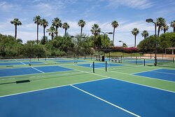 Pickle Ball Courts at the Westin Mission Hills