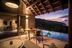 Terrace - Hill Pool Villa