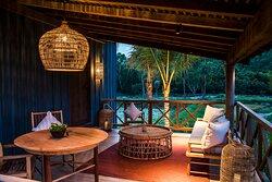 Terrace - Paddy Field Villa