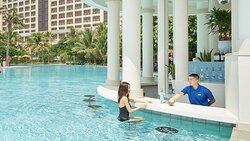 Pool Bar at InterContinental Grand Ho Tram