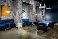 W XYZ Bar - Pool Table