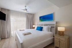 Two-Bedroom Reef House - Master Bedroom