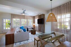 Two-Bedroom Resort View Reef House - Living Room