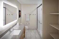 View of Our Newly Designed Guest Bathroom