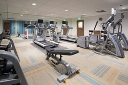 Fitness Center in the new Holiday Inn Express Orlando South Park