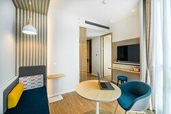 1 King Bed Standard Suite Room