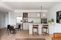Two Bedroom Apartment Kitchen and Dining