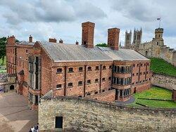 Victorian Prison inside the walls of Lincoln Castle (04/Jul/21).