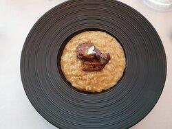 Rissitto with foie gras
