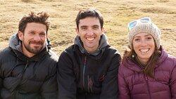 L'équipe de Graviteo. La marque de fabrique ? Sourire et passion. De gauche à droite : Boris Pezon, Bastien Gerland et Aurélie Frayssinet.