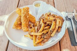 notre fameux fish'n chips