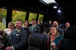 Another happy wedding party!