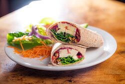 Colourful and tasty wraps!