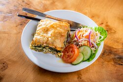 Our Spanakopita is a firm favourite amongst our customers - a scrumptious Greek savoury spinach pie!