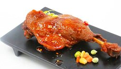 cuisse de canard à l'orangé