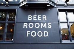 Beers. Rooms. Food!