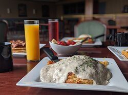 Barnacle Biscuits + Gravy