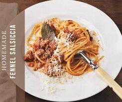 Linguine Fennel Salsiccia