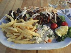 Hier wird noch selbst und frisch gekocht - Ostria Restaurant Kalathos