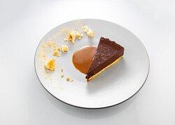 la tarte au chocolat