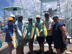 Fishmonster Charters is located at A&B Marina in Key West Highly recommend chartering a fishing trip with them. This was our third time to fish on the Premium Time.