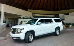 Travel with style.  VIP service on a Suburban.  Door to door. Private. Meet & Greet. VIP.