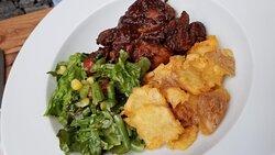 Meat entree at La Parada, Calle Recreo 94, Zona Centro, San miguel de Allende 37700