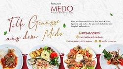 Es warten einzigartige Geschmäcker und unvergessliche Momente auf Sie…Reservieren Sie Ihren Platz für eine tolle Erfahrung. 📞Reservierung: 02241-53990 #MEDORestaurant