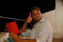 Cristian, un simpatico cameriere!!!
