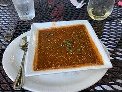 Snapper soup