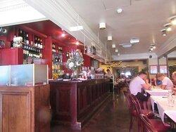 Inside Palm Court Brasserie