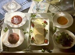 Modern Greek Dining Fresh Cold Seafood Platter Sides