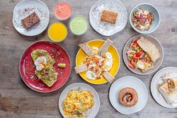 A range of our brunch items