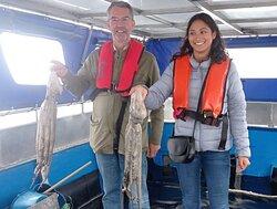Excursión de Pescaturismo Galicia en Sanxenxo para la pesca del pulpo